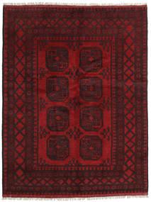 Afghan Rug 148X196 Authentic  Oriental Handknotted Dark Red/Dark Brown (Wool, Afghanistan)