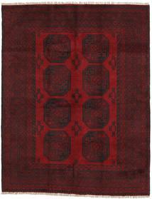 アフガン 絨毯 148X191 オリエンタル 手織り 深紅色の/濃い茶色 (ウール, アフガニスタン)