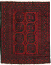 Afghan Rug 150X190 Authentic  Oriental Handknotted Dark Red/Dark Brown (Wool, Afghanistan)