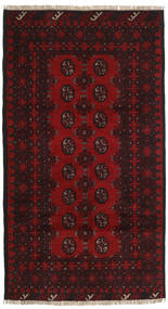Afghan Rug 102X189 Authentic  Oriental Handknotted (Wool, Afghanistan)