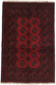 Afghan Rug 96X149 Authentic  Oriental Handknotted Dark Brown/Dark Red (Wool, Afghanistan)