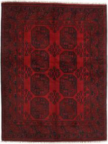 アフガン 絨毯 149X194 オリエンタル 手織り 深紅色の/赤 (ウール, アフガニスタン)