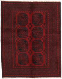 Afghan Rug 147X188 Authentic  Oriental Handknotted Dark Red/Dark Brown (Wool, Afghanistan)