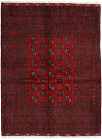 Afghan Rug 152X196 Authentic  Oriental Handknotted Dark Red/Crimson Red (Wool, Afghanistan)