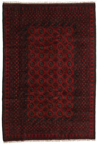 Afghan Alfombra 196X288 Oriental Hecha A Mano Rojo Oscuro (Lana, Afganistán)