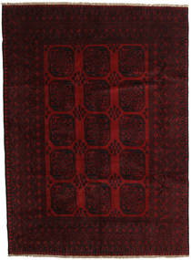 Afghan Rug 203X279 Authentic  Oriental Handknotted Dark Brown/Dark Red (Wool, Afghanistan)