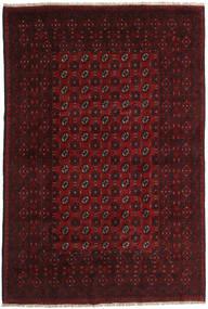 Afghan Rug 192X285 Authentic  Oriental Handknotted Dark Brown/Dark Red (Wool, Afghanistan)