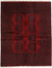 Afgan Dywan 148X189 Orientalny Tkany Ręcznie Ciemnoczerwony/Ciemnobrązowy (Wełna, Afganistan)