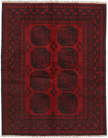 Afghan Rug 146X188 Authentic  Oriental Handknotted Dark Red/Dark Brown (Wool, Afghanistan)