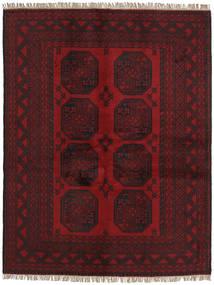 Afgan Dywan 146X191 Orientalny Tkany Ręcznie Ciemnoczerwony/Ciemnobrązowy (Wełna, Afganistan)
