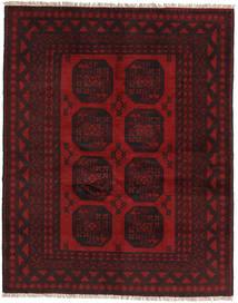 アフガン 絨毯 149X188 オリエンタル 手織り 濃い茶色/深紅色の (ウール, アフガニスタン)