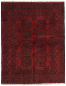 Afghan Rug 148X191 Authentic  Oriental Handknotted Dark Red/Dark Brown (Wool, Afghanistan)