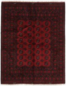 Afgan Dywan 148X191 Orientalny Tkany Ręcznie Ciemnoczerwony (Wełna, Afganistan)