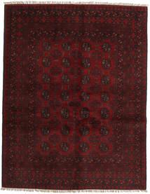 Afghan Alfombra 146X190 Oriental Hecha A Mano Marrón Oscuro/Rojo Oscuro (Lana, Afganistán)