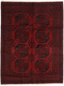 Afghan Rug 150X197 Authentic  Oriental Handknotted Dark Red (Wool, Afghanistan)