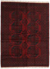 Afghan Rug 148X195 Authentic Oriental Handknotted Dark Brown/Dark Red (Wool, Afghanistan)