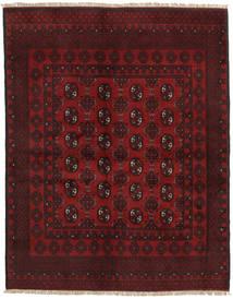 Afghan Tapis 149X190 D'orient Fait Main Rouge Foncé/Rouge (Laine, Afghanistan)