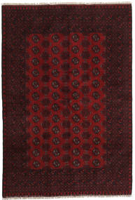 Afghan Rug 162X239 Authentic  Oriental Handknotted Dark Brown/Dark Red (Wool, Afghanistan)