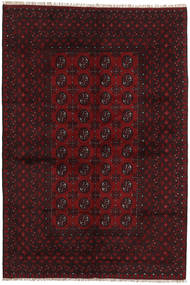 Afghan Rug 160X237 Authentic Oriental Handknotted Dark Red (Wool, Afghanistan)
