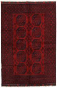 Afghan Rug 163X243 Authentic  Oriental Handknotted Dark Red/Dark Brown (Wool, Afghanistan)