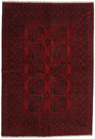 Afghan Rug 162X235 Authentic  Oriental Handknotted Dark Red/Dark Brown (Wool, Afghanistan)