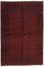 Afghan Rug 157X237 Authentic  Oriental Handknotted Dark Red/Dark Brown (Wool, Afghanistan)