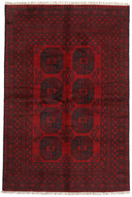 Afghan Rug 161X243 Authentic  Oriental Handknotted Dark Red/Crimson Red (Wool, Afghanistan)