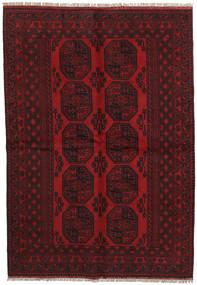 Afgan Dywan 163X233 Orientalny Tkany Ręcznie Ciemnobrązowy/Ciemnoczerwony (Wełna, Afganistan)