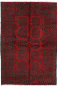 Afghan Rug 161X239 Authentic  Oriental Handknotted Dark Red/Crimson Red (Wool, Afghanistan)