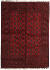 Afghán Koberec 168X232 Orientální Ručně Tkaný Tmavě Červená/Červená (Vlna, Afghánistán)