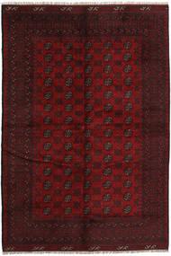 Afghan Rug 167X246 Authentic  Oriental Handknotted Dark Red (Wool, Afghanistan)