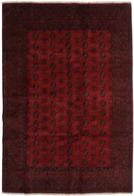 Afghan Rug 194X284 Authentic Oriental Handknotted Dark Brown/Dark Red (Wool, Afghanistan)
