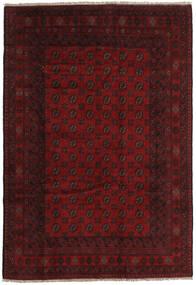 Afghán Koberec 194X284 Orientální Ručně Tkaný Tmavě Červená/Tmavě Hnědá (Vlna, Afghánistán)