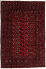 Afghan Rug 193X286 Authentic Oriental Handknotted Dark Brown/Dark Red (Wool, Afghanistan)