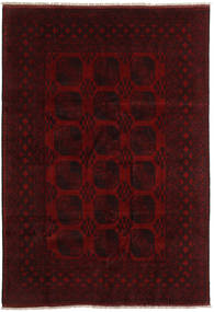 Afghan Rug 199X290 Authentic  Oriental Handknotted Dark Brown/Dark Red (Wool, Afghanistan)