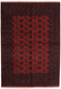 Afgan Dywan 165X237 Orientalny Tkany Ręcznie Ciemnobrązowy/Ciemnoczerwony (Wełna, Afganistan)