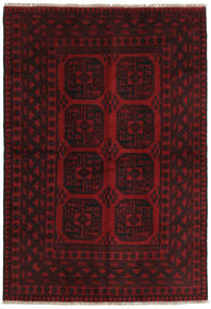 Afghan Rug 161X232 Authentic  Oriental Handknotted Dark Brown/Dark Red (Wool, Afghanistan)