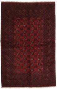 アフガン 絨毯 156X241 オリエンタル 手織り 深紅色の (ウール, アフガニスタン)