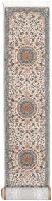 Negar Vloerkleed 80X600 Oosters Tapijtloper Lichtgrijs/Beige ( Turkije)