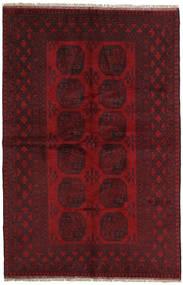Afghan Rug 160X243 Authentic  Oriental Handknotted Dark Red/Crimson Red (Wool, Afghanistan)