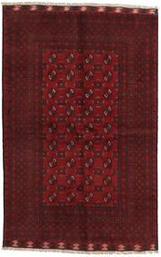 Afghan Alfombra 154X233 Oriental Hecha A Mano Rojo Oscuro/Marrón Oscuro (Lana, Afganistán)