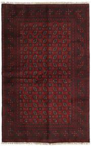Afgan Dywan 156X246 Orientalny Tkany Ręcznie Ciemnoczerwony/Ciemnobrązowy (Wełna, Afganistan)