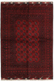 Afghan Rug 161X234 Authentic  Oriental Handknotted Dark Red (Wool, Afghanistan)