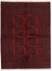 Afghan Rug 169X225 Authentic  Oriental Handknotted Dark Red (Wool, Afghanistan)