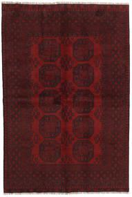 Afghan Rug 162X238 Authentic  Oriental Handknotted Dark Red/Dark Brown (Wool, Afghanistan)