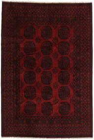 Afgán Szőnyeg 200X296 Keleti Csomózású Sötétbarna/Sötétpiros (Gyapjú, Afganisztán)