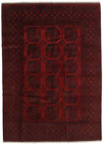 アフガン 絨毯 204X284 オリエンタル 手織り 深紅色の (ウール, アフガニスタン)