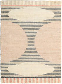 Time Rug 140X200 Authentic  Modern Handwoven Beige/Light Brown ( India)