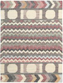Arrows 絨毯 140X200 モダン 手織り ベージュ/薄い灰色 ( インド)