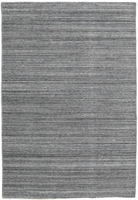 Petra - Dark_Mix Rug 140X200 Authentic  Modern Handwoven Dark Grey/Light Blue ( India)